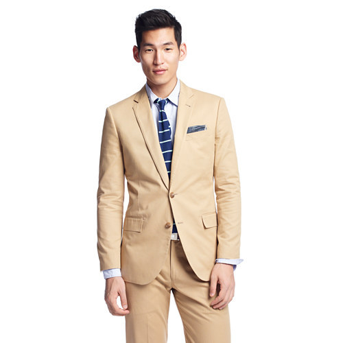 wantering:  J. Crew Ludlow Suit Jacket in Italian Chino