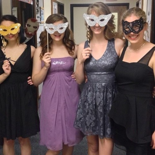 hailjay:  9gag:  My school had a masquerade dance yesterday and I decided to drop by  HAHAHAHHAHAHAHAH