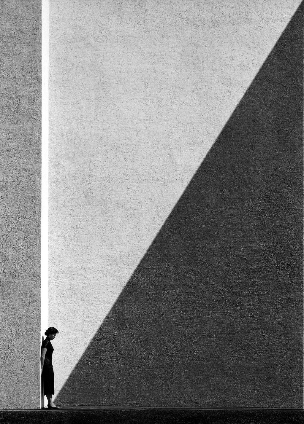 dailyartspace:   Approaching Shadow, 1956/2012 by Fan Ho
