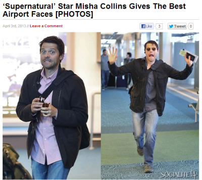 atticdweller:  misha MISHA you are 38 fucking years old you should not be this cute