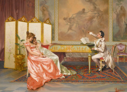monsieurleprince:  Vittorio Reggianini (1858 - 1938) - The recital