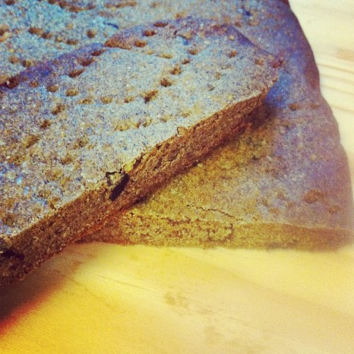 Buckwheat olive shortbread #homemade #saltie