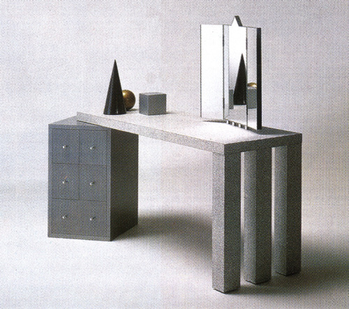 aqqindex:  Antonia Astori, Aforismi Dressing Table, for Driade, 1984