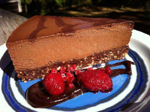 Totally Decadent!!!!Go easy on this one as a special treat only!!!Raw Vegan Nutella Cream PieCrust:1 cup walnuts1 cup hazelnuts1 loosely packed cup pitted medjool dates1/4 cup raw cacao powder1 tsp salt1 tbsp maple syrupNutella Filling of Deliciousness:1 cup raw cashews1 cup raw hazelnuts1/2 cup coconut oil, melted1/2 cup maple syrup1/2 cup water1/2 cup raw cacao powder1 1/2 tsp saltoptional: 1 tbsp cold pressed hazelnut oil, or few drops hazelnut extractadditional: 1-2 tbsp extra water, to blend wellBONUS Chocolate Ganache Topping:1 part coconut oil, melted1 part raw cacao powder1/2 part maple syruppinch salt   Xoxoxo Michelle