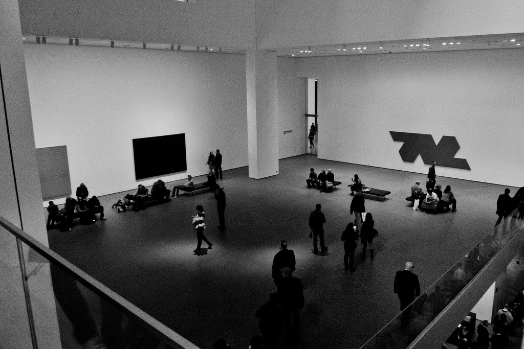 Atrium, MoMA, New York City, April 2011