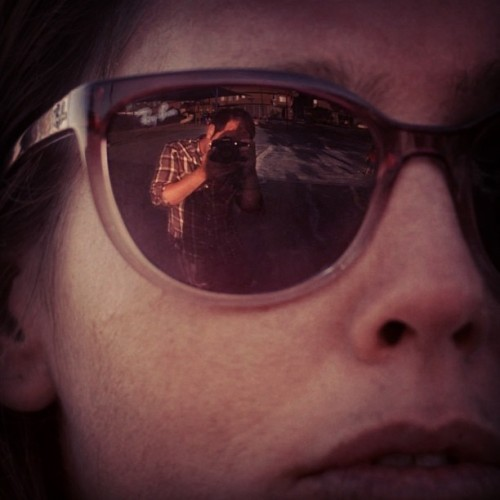 #reflection #rayban #sunglasses #photography