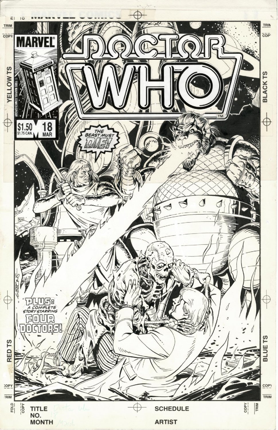 Doctor Who 18 Dave Gibbons