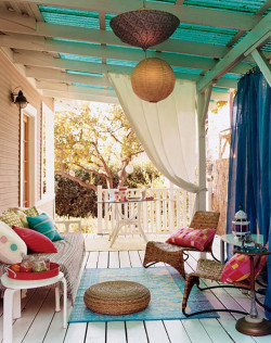 want my porch at my shore house to look like this
