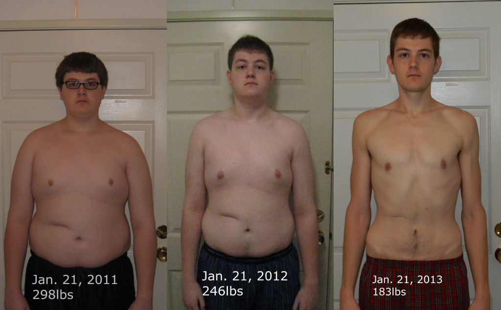 Two years of losing fat the healthy way. Two years of putting on muscle the healthy way, coming right up.