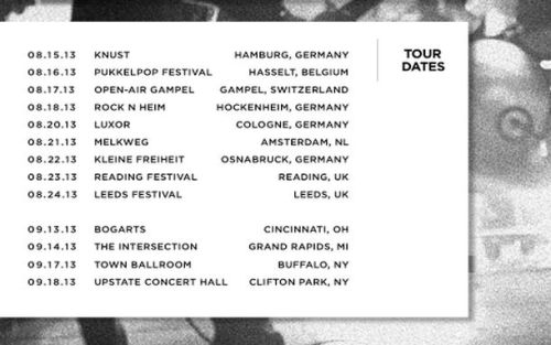 brand-nizzle:  Tour dates.