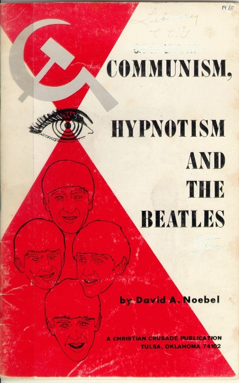 weirdvintage:  Anti-Beatles pamphlet, 1965 (via Dangerous Minds)  I wanna read this! Lolzzzzz