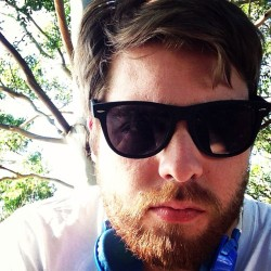 danielsheadlfc:  Not a terrible day #beard #sunglasses #dude