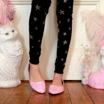 New MADE TO ORDER star leggings now available on www.imyourpresent.etsy.com!