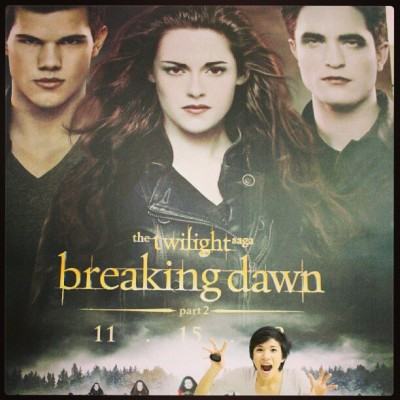 #breakingDawn2 #LateUpload