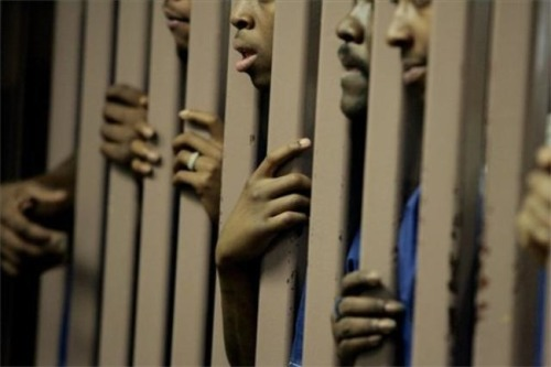 "Sadanarcho-queer:  Incarceration Rate For Blacks 6 Times The National Average The incarceration rate for American-Americans is so high that young black men without a high school diploma are more likely to go to jail than to find a job, thereby causing the breakup of families and instilling further poverty upon them. ""Prison has become the new poverty trap,"" Bruce Western, a Harvard sociologist, told the New York Times. ""It has become a routine event for poor African-American men and their families, creating an enduring disadvantage at the very bottom of American society."" While few would argue against locking up murderers and rapists, many social scientists have begun to discuss the problem of imprisoning too many people – especially when those people face long sentences for nonviolent crimes. The US has the highest incarceration rate in the world, locking up about 500 people for every 100,000 residents, according to the Bureau of Justice Statistics. The incarceration rate for African-Americans is about 3,074 per 100,000 residents, which is more than six times as high as the national average. Black men in their 20s and early 30s without a high school diploma are particularly vulnerable: with an incarceration rate of 40 percent, they are more likely to end up behind bars than in the workforce, Pew Charitable Trusts reports. Since the incarceration rate is highest for African-Americans, it makes it more difficult for blacks to rise out of poverty, receive higher levels of education, and escape a life of crime. Here are a few more facts about black incarceration taken from the New York Times: Among male high school dropouts born between 1975 and 1979, 68 percent of blacks (compared with 28 percent of whites) had been imprisoned at some point by 2009, and 37 percent of blacks (compared with 12 percent of whites) were incarcerated that year. By the time they turn 18, one in four black children will have experienced the imprisonment of a parent. More young black dropouts are in prison or jail than have paying jobs. Black men are more likely to go to prison than to graduate with a four-year college degree."