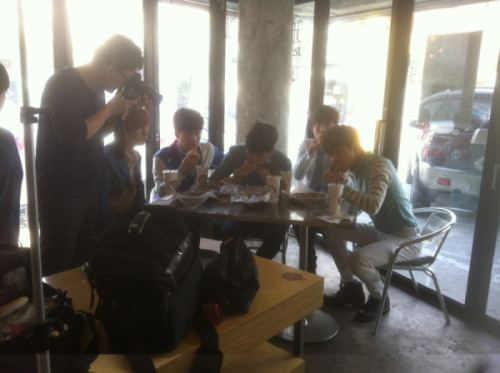 F.CUZ shooting for Hot Chili Paper