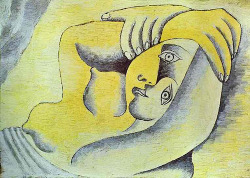 assified:   Picasso, Pablo (1881-1973) - 1929 Nude on a Beach   everything you've ever wanted