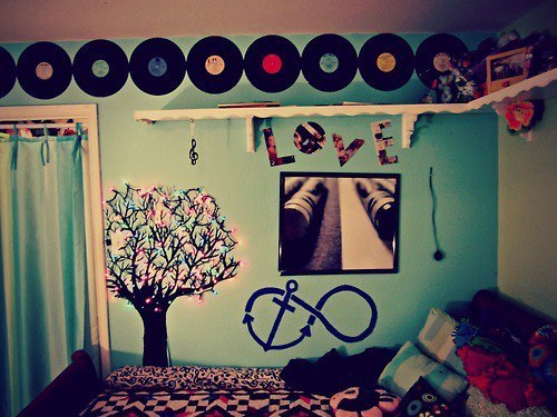 Fuck yeah teenage bedrooms for Room decor hipster