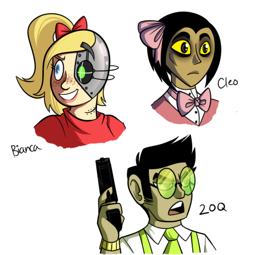 I made more humanizations… And now that it's exactly 4:00 am I should maybe try and sleep a bit 6 u 9