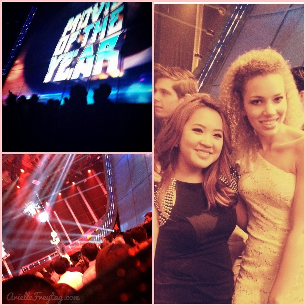 MTV Movie Awards with my gorgeous friend Ashley!~ Had a great night! And met the handsome hunk, Vin Diesel. <3