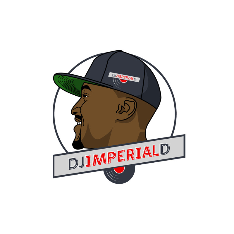 DJ Imperial D logo. Designed by Jeremy Biggers.