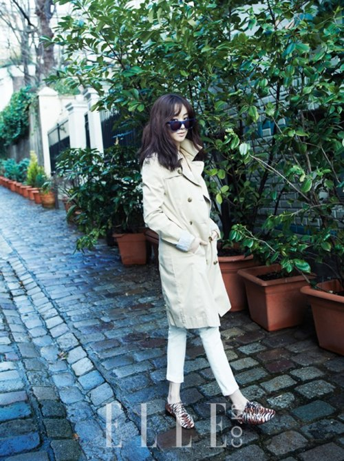 Elle Korea Model: Jung Ryeo Won March 2013