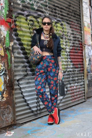 me by very talented Brandon Stanton (Humans of New York) for nyfw street style coverage for vogue.com http://www.vogue.com/vogue-daily/article/humans-of-new-york-takes-on-nyfw/#1