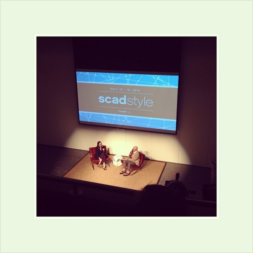 Lisa Immordino Vreeland & Dean Fink at @SCADMOA for the Diana Vreeland documentary film #SCADstyle <3 (at SCAD Museum of Art)