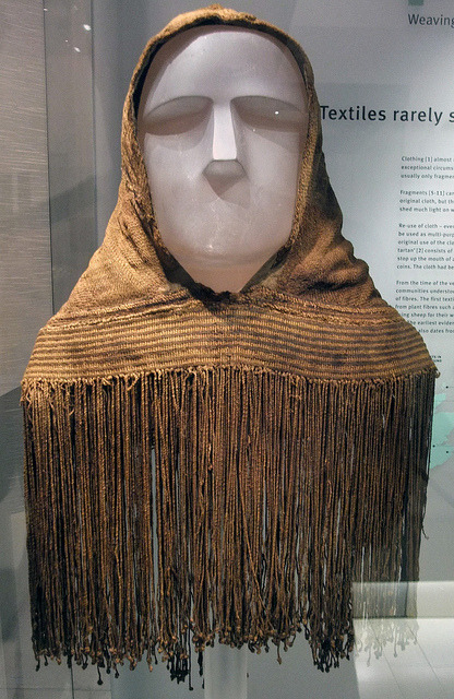 Awesome find from the Orkney isles, a fabric hood worn by the pictish peoples, made 1,700 years ago, just brilliant, just brilliant  http://www.orkneyjar.com/history/orkneyhood.htm