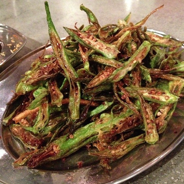 Okra Fry Addiction  (at Chai Pani)