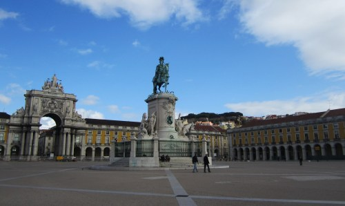 Praça do Comércio/Commerce Square in Lisbon