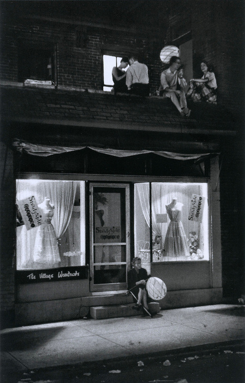 The Village Wardrobe. Pittsburgh, 1955. By W. Eugene Smith
