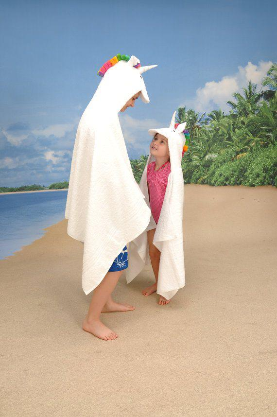 If one were looking for unicorn hooded towels for adults, we know where one can find them on Etsy. (Burn upon reading.)