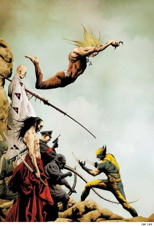 superramona64:  Wolverine vs. everyone by Jae Lee