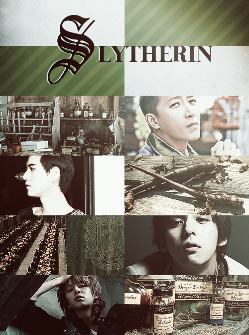 Super Junior x Hogwarts Houses » Slytherin