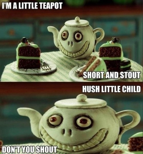 niknak79:  Little evil teapot