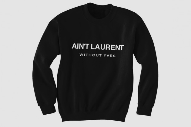 visualamor:  It aint Laurent without Yves   Shots fired.