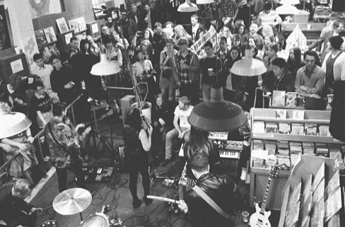 Live at Zulu Records in Vancouver. Record Store Day 2013.