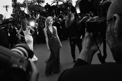 whatzedsaw:   georgia may jagger, the great gatsby premiere cannes film festival 2013 twenty may twenty thirteen   La Alfombra de CANNES en BYN…