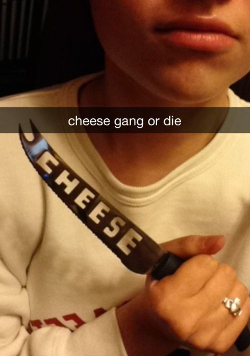 camer0nfry:  cheese gang ain't nuthin ta fuck wit