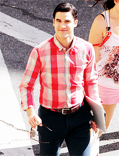darrenishedwig-deactivated20151:  Darren Criss on the set of Glee (May 1, 2014)