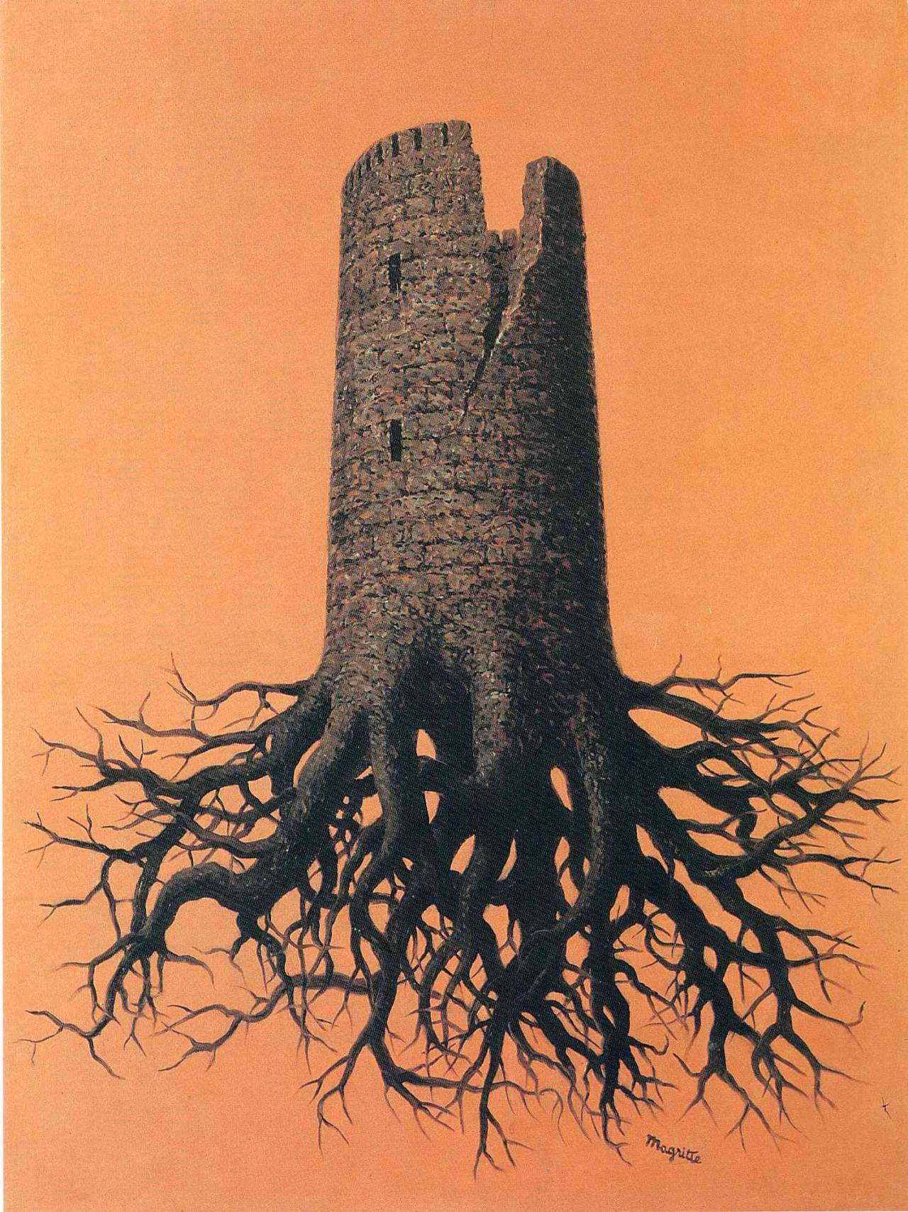 Almayer's folly, 1951 Rene Magritte