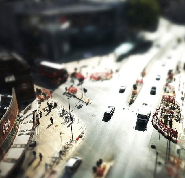 | ♕ |  Wood Green, London - Tilt/Shift  | by © James