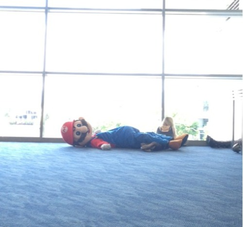 M-Mario? You okay? Buddy?