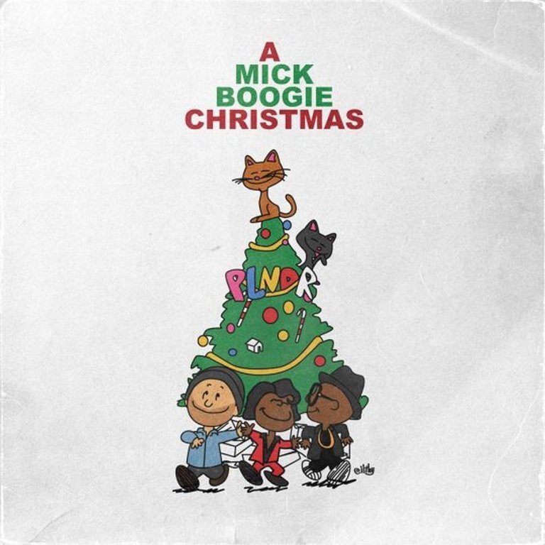 "@PLNDR Presents ""A Mick Boogie Christmas"" 1. DMC: Christmas In Hollis 2012 (produced by nVMe) 2. Jimmy Smith: God Rest Ye Merry Gentlemen 3. Pee Pee Dynamite: Groovy Christmas & New Year (Still Life Edit) 4. James Brown: Soulful Christmas 5. Marvin Gaye: Purple Snowflakes 6. Jackson 5: Up On The House Top (DJ Spinna Re-Edit) 7. The Jive Turkeys: Funky Jesus 8. Stevie Wonder: Someday At Christmas 9. Minnie Ripperton: Christmas Love 10. The Jive Turkeys: Get Down Santa 11. Clarence Carter: Back Door Santa 12. Sharon Jones & The Dap-Kings: Ain't No Chimneys In The Projects 13. The Temptations: Rudolph The Red Nose Reindeer 14. Cee-Lo Green: This Christmas 15. Soul Saints Orchestra: Santa's Got A Bag Of Soul 16. Charles Bradley: Mary's Baby 17. Louis Armstrong: Baby, It's Cold Outside [Mulato Beat Remix] 18. Binky Griptite: Stone Soul Christmas 19. Jackson 5: Give Love On Christmas Day 20. Charles Bradley: Every Day Is Christmas (When I'm Loving You) 21. Charles Brown: Please Come Home For Christmas 22. James Brown: Santa Claus, Santa Claus"