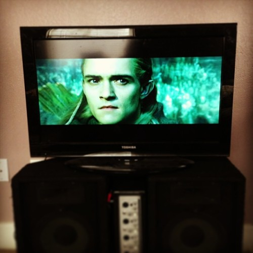 Handsome ;3 #mymorning #lotr #legolas #elf #orlandobloom