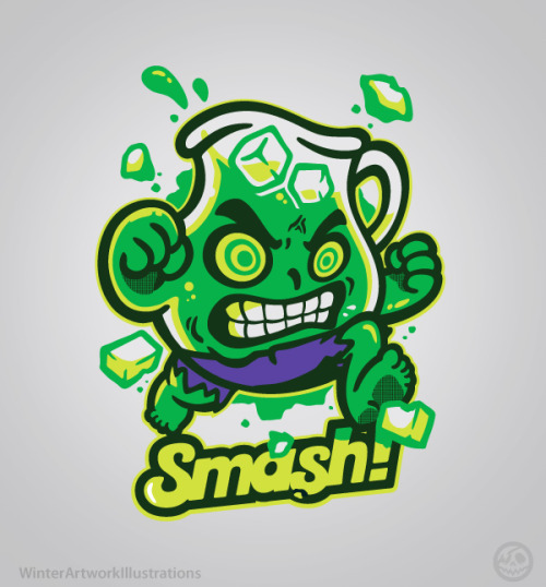 Smash!You wouldn't like me when I'm thirsty! available on teeturtle