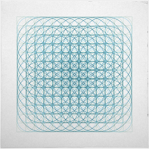 geometrydaily:  #436 Vortex – A new minimal geometric composition each day