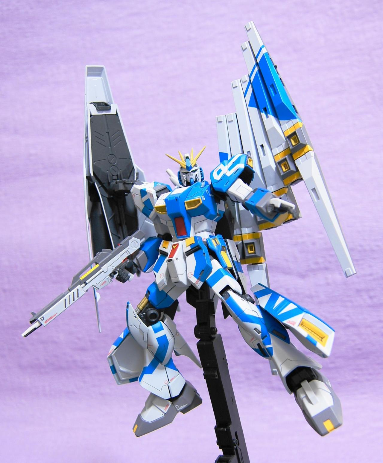 gunjap:  1/144 RX-93 Nu Gundam (Original Color): Full Photoreview No.18 Wallpaper Size Imageshttp://www.gunjap.net/site/?p=127581