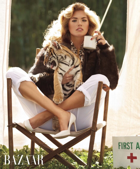 suicideblonde:  Kate Upton photographed by Sebastian Faena for Harper's Bazaar, May 2013